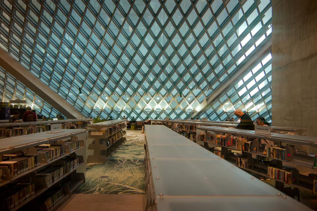 Gentil Seattle Central Library (West Region Champion)